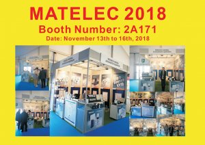 MATELEC 2018 Booth Number: 2A171